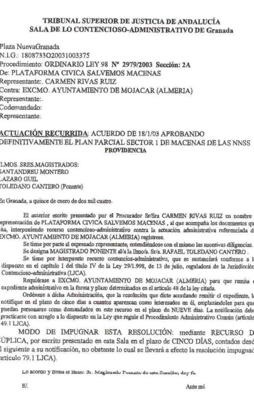 Contencioso-Administrativo de Granada