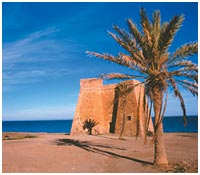 Castillo Playa Macenas